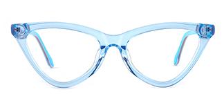 X52056 zoey Cateye blue glasses