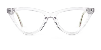 X52056 zoey Cateye clear glasses
