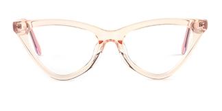 X52056 zoey Cateye orange glasses