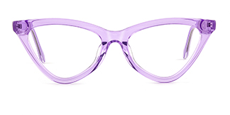 X52056 zoey Cateye purple glasses