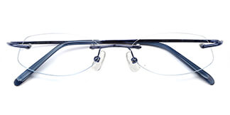 X7118 Volter Rectangle,Oval blue glasses