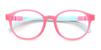 Y8803 Hermione Oval pink glasses