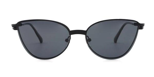 YC33052 rabia Cateye black glasses
