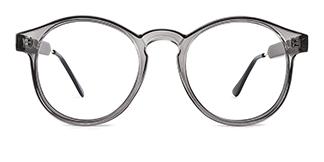 Z3185 Yadyra Round grey glasses