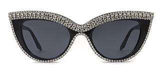Z3293 Arline Cateye black glasses
