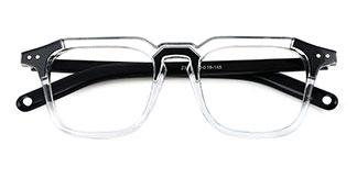 Z3327 Carol Rectangle clear glasses