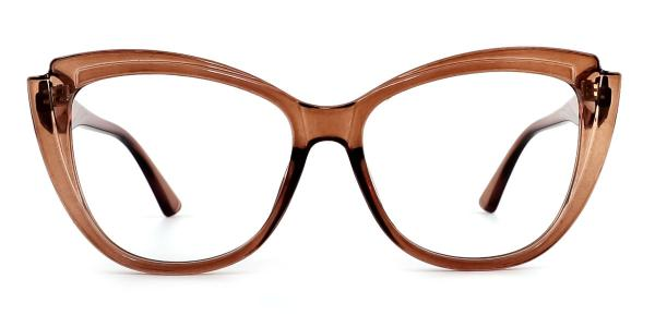 Z3338 Jaylee Cateye green glasses