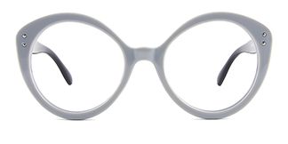 Z3367 Viola Cateye grey glasses