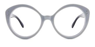 Z3367 Viola Cateye grey glasses