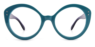 Z3367 Viola Cateye green glasses