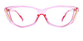 Z3390 Finola Cateye pink glasses