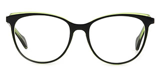 Z506 Quanda Oval green glasses