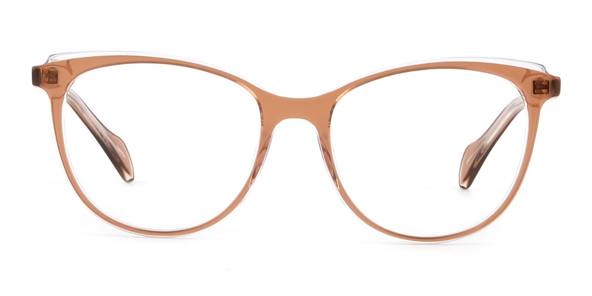 Z506 Quanda Oval red glasses