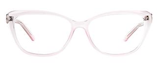 ZY701 Amie Cateye pink glasses